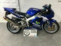 1999 Yamaha R1 YZF 1000 YZF1000 Full Titanium Akrapovic System, Supersports