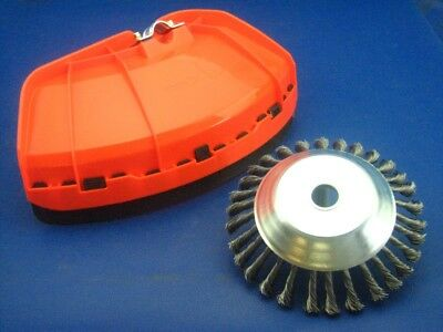 Unkrautbürst Incl. Robust Cutting Guard For Strimmer of Many Manufacturer