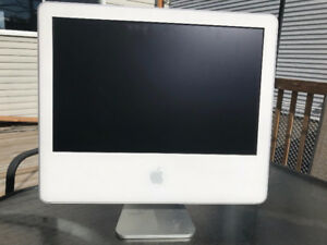 2 iMac's for Parts - 1 x 20in PPC, 1 x 17in Intel
