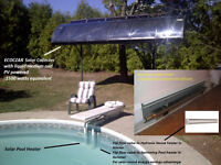 Solar furnace and pool heater