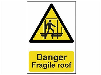 Scan - Danger Fragile Roof - Pvc 200 X 300mm