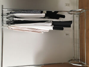 Clothes rack -heavy duty, bottom rack