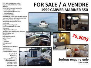 FOR SALE Boat Carver mariner 350