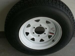 ST 225 75 D15 - TRAILER TIRES on RIMS - CLENTEC