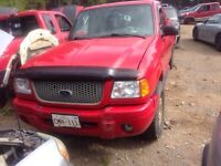 Parting out 02 ranger 4l 4x4!!!!