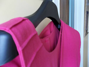 ROBE ET VESTON ROSE FUSCHIA