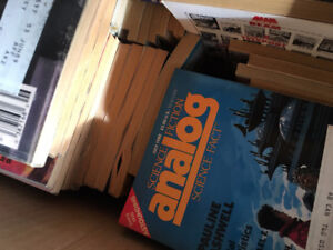 HUGE lot of Analog Magazines (70s-Current)