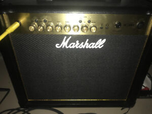 Marshall amp and Pedals