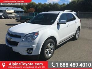 2012 Chevrolet Equinox 1LT   AWD, roof rack, air conditioning, c