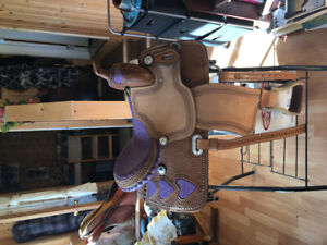 Two saddles for sale/ trade