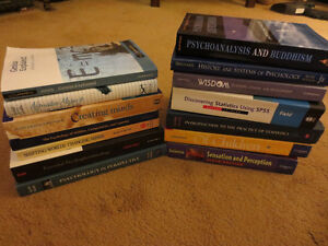 Assortment of Psychology Books - $10 for ENTIRE SET