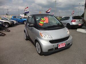 2011 Smart Fortwo Pure Coupe (2 door) E-TESTED & CERT