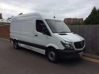 Mercedes-Benz Sprinter 2.1 TD 313 CDI MWB NEW SHAPE LOW MILEAGE 2014 ONLY 86K
