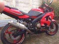 Ninja 639 not r6 r1 Yamaha Suzuki honda