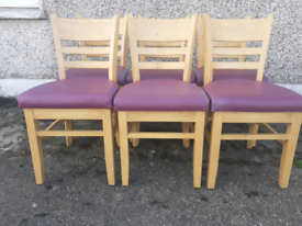 Extendable dining table and chairs delivery available