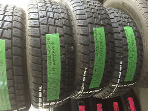 4 USED AVALANCHE EXTREME WINTER TIRES 185/65/14