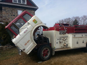 FIRETRUCK !  $6700.00 OBO/ TRADE?....1966 FORD  C700 ONLY 12,00