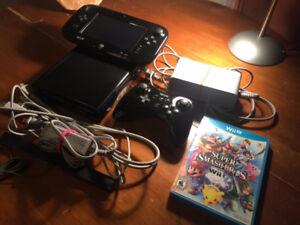 Wii U, Super Smash Bros. [Wii U], and 1 Pro Controller