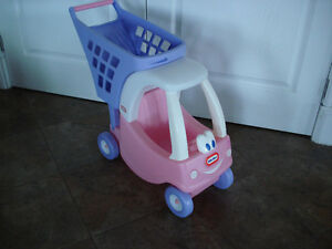 Little Tikes Cozy Coupe Shopping Cart - Pink