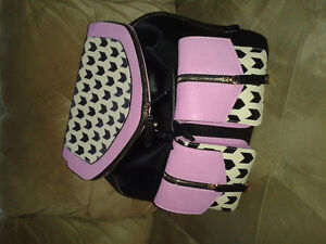 GIANNI BINI BACK PACK PURSE