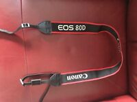 Canon eos 80d strap
