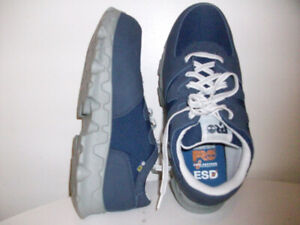 NEW CERTiFiED STEEL-TOE WORK SHOES TiMBERLAND PRO. SiZE 8