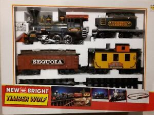 Train Set, New Bright, Timber Wolf