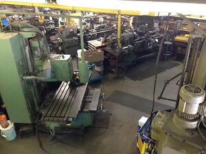 Full Blown Machine Shop for all your machining needs