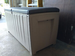 Excellent Storage Box. Great for patios, garages, sheds, cottage