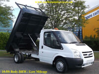 2011/ 61 Ford Transit 100ps T350m S/Cab Tipper 10ft steel body Low Mileage [RWD]