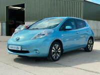 2016 Nissan Leaf 30kWh Tekna 6.6kW Charger HATCHBACK Electric Automatic