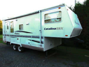 Caravane a sellette, fifthwheel Coachmen Catalina 2003