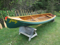 "Peterborough Canvas ""Gadabout"" Square Stern Canoe"