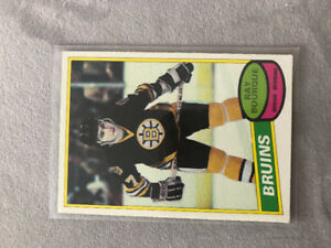 Ray Bourque 1980 O-PEE-CHEE Card