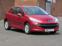 2007/07 Peugeot 207 1.4l petrol, 10 months mot, HPI Clear, very low miles