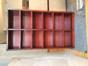 Belle étagère en bois plaqué - Nice similiwood bookshelf