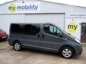 Renault Trafic 5 Seat Ricon Tail Lift Wheelchair Accessible WAV MPV BUS