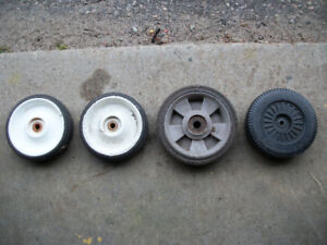 ASSORTED LAWN MOWER WHEELS