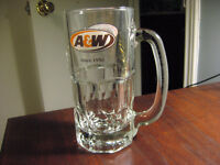 A&W Root Beer Mug - Medium Size - Holds Aprox. 500ml