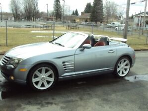 chrysler crossfire 2005 lted roadster convertible