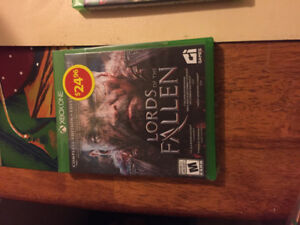 Brand New In Wrapper Multiple X Box One Games For Sale