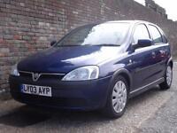 Vauxhall/Opel Corsa 1.0i 12v Active 2003(03) 5 Door Hatchback