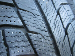 205/65R15 Michelins. 4 winter and 4 summer on steel rims w caps. Kitchener / Waterloo Kitchener Area image 4