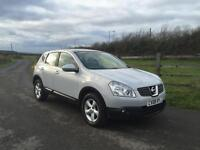 Nissan Qashqai 2.0dCi 4WD Acenta finance available from £30 per week