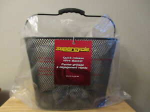 Supercycle Front Wire Bike Basket with Quick-release - Brand New