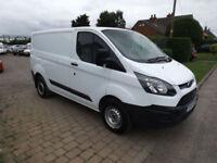 2014 14 Ford Transit Custom 2.2TDCi ( 100PS ) ECOnetic 270 L1 NO VAT