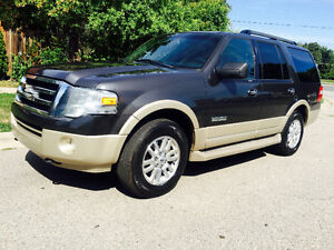 2007 FORD EXPEDITION EDDIE BAUER 4X4, LEATHER/ROOF/7PASSENGER!!