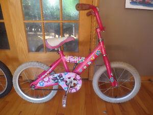 vélo pour enfant barbie