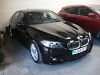 2015 65 BMW 5 SERIES 2.0 520D M SPORT 4D AUTO 188 BHP DIESEL