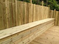 Fencing and decking in the Falkirk area